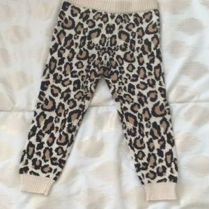 Baby leopard print pants